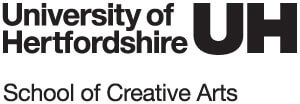 University of Hertfordshire School of Creative Arts Logo
